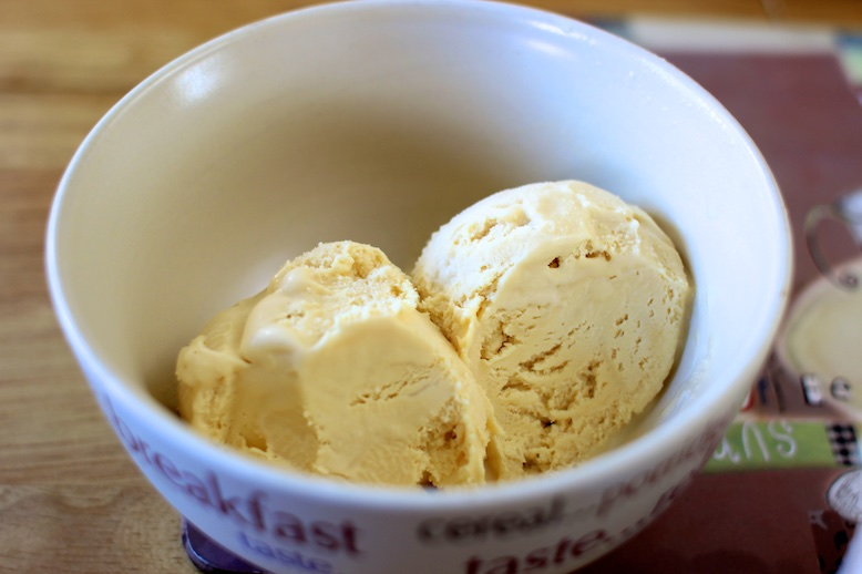 Roasted Almond Ice Cream – Recipe