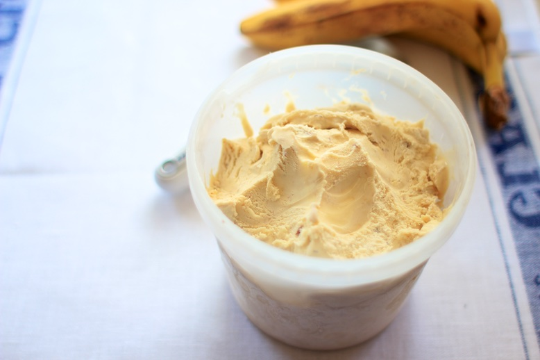 Roasted Banana Ice Cream Recipe
