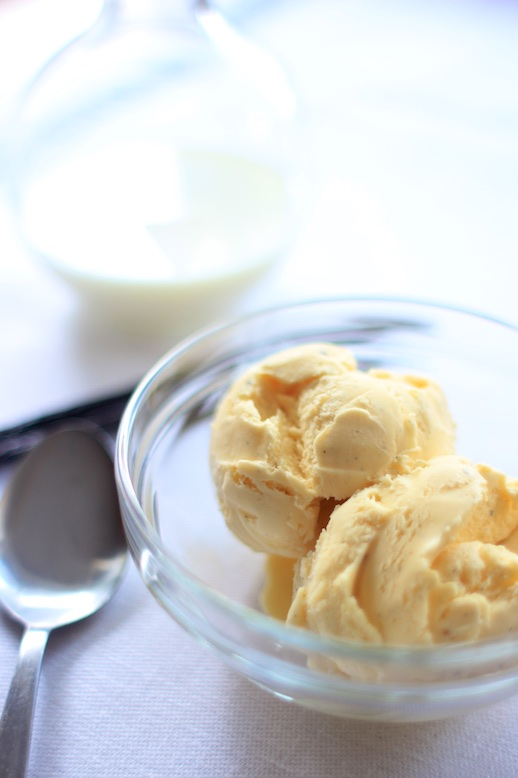 How to make homemade vanilla ice cream